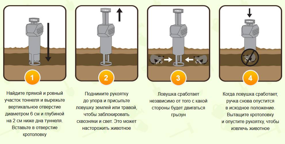 Инструкция по установке ловушки Кот Фёдр
